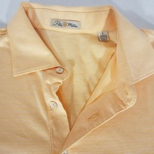 Peter Millar Striped Golf Polo Shirt